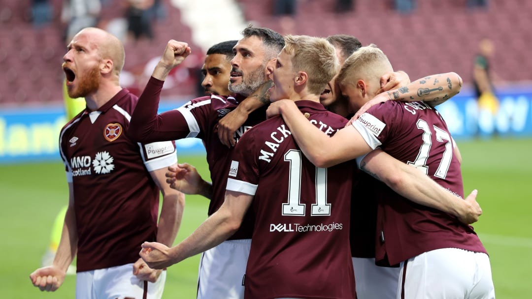 Hearts claimed a famous win on Saturday night