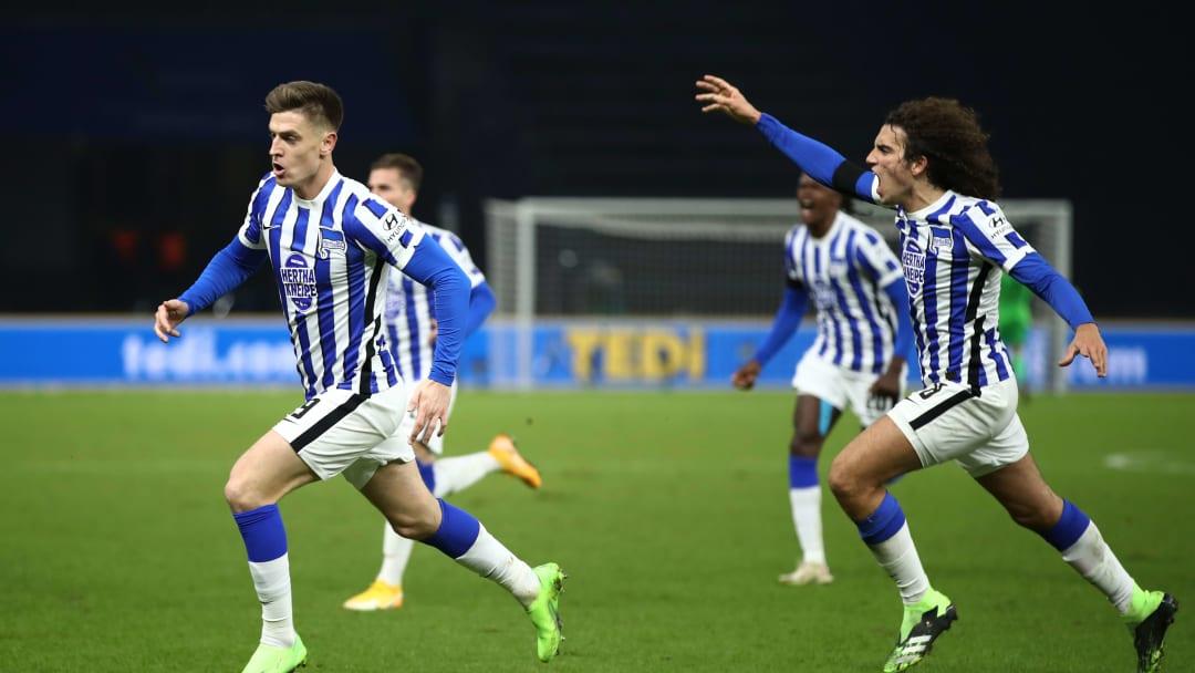 Nach dem Derby-Sieg möchte Hertha BSC auch gegen Gladbach punkten