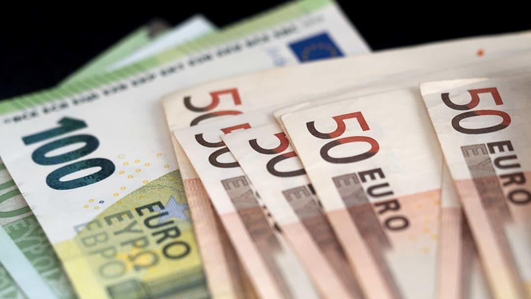 Euro banknotu