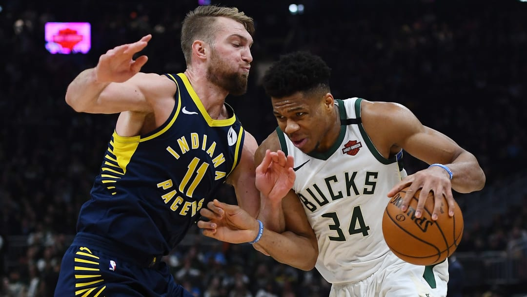 Pacers vs Bucks prediction, odds, over, under, spread, prop bets for NBA betting lines tonight.