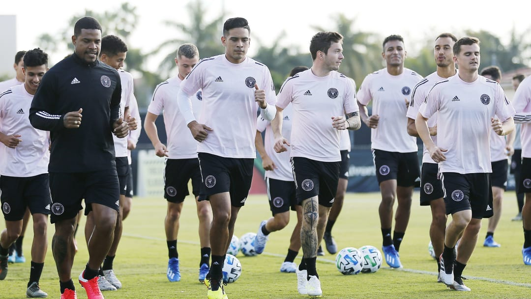 Inter Miami CF Training Session