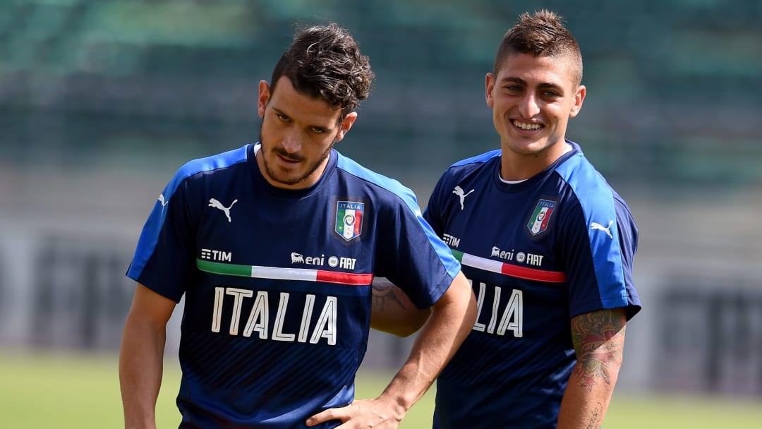 Alessandro Florenzi e Marco Verratti