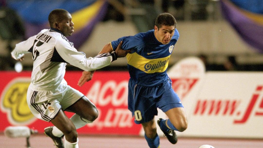 Boca venció a Real Madrid en 2000