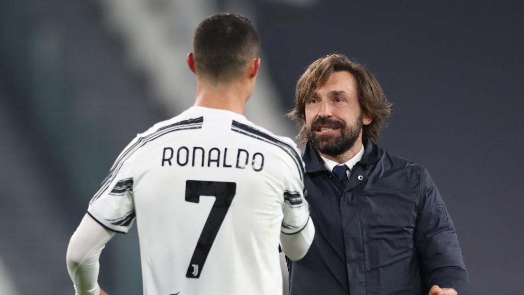 Andrea Pirlo & Cristiano Ronaldo