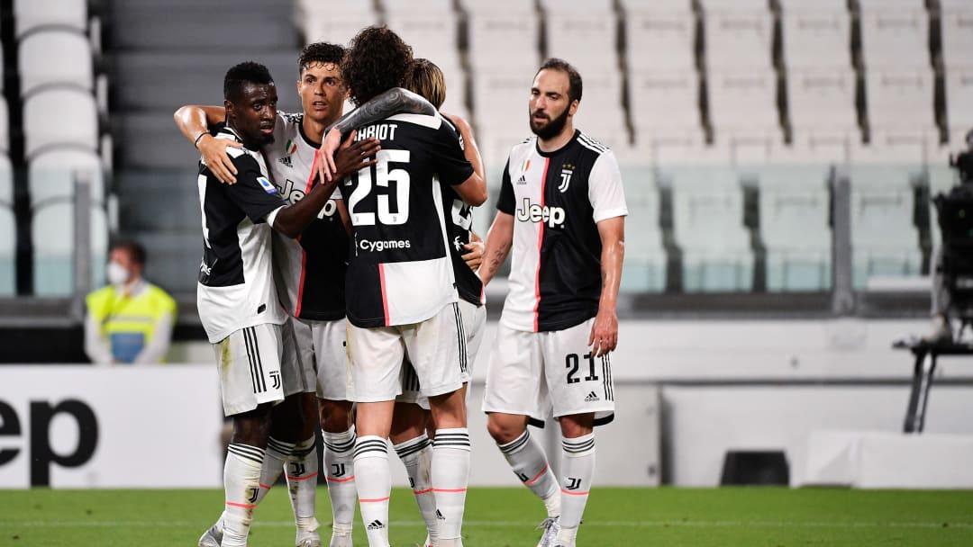 Adrien Rabiot, Blaise Matuidi, Cristiano Ronaldo, Federico Bernardeschi