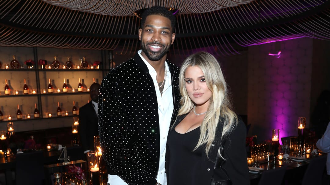"Khloé Kardashian and Tristan Thompson reportedly ""giving their relationship another try."""