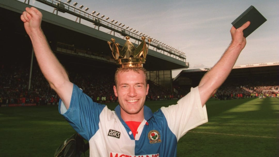 Alan Shearer's goals won a shed load of points for Blackburn in the 1990s