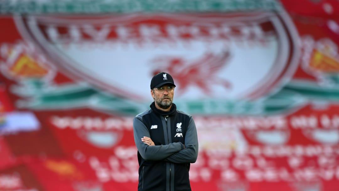 Jürgen Kloop savoure le titre de Liverpool en premier League