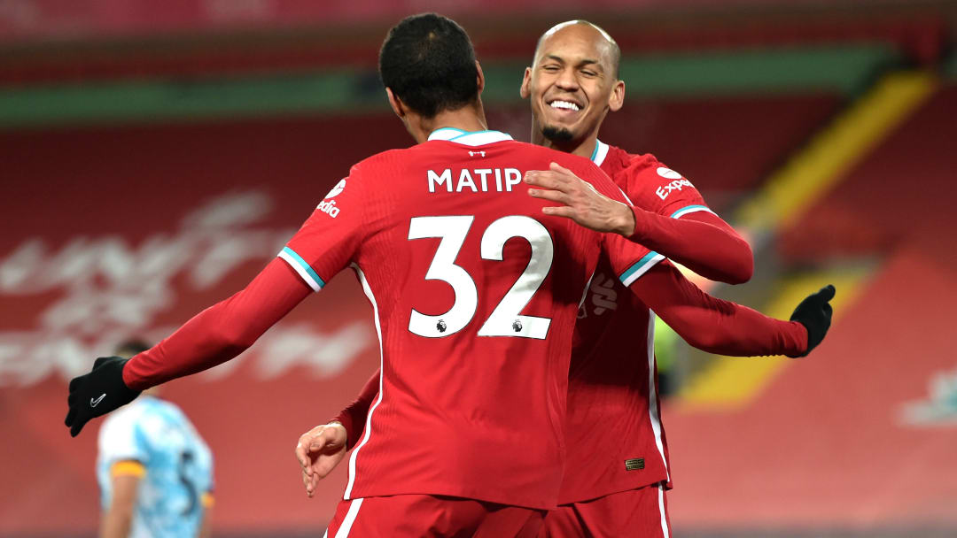 Fabinho and Joel Matip have started to build a strong partnership in Liverpool's defence.