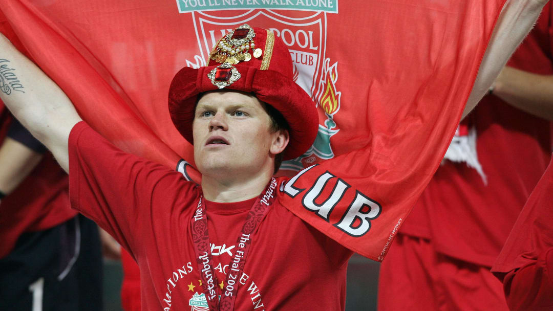 John Arne Riise won the Champions League with Liverpool in 2005