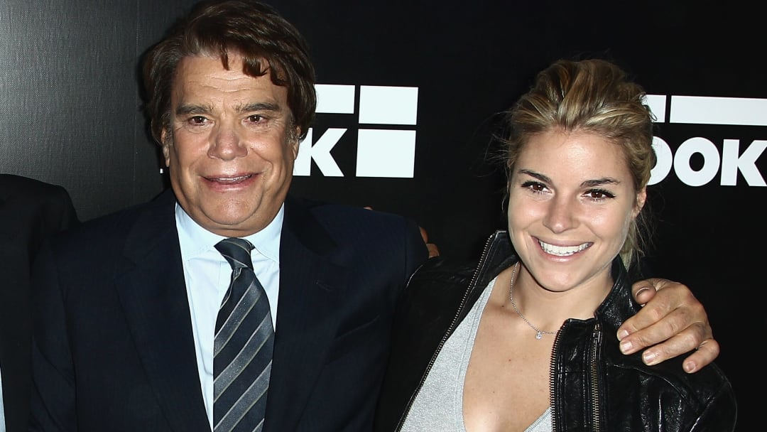 Bernard Tapie avec sa fille Sophie.