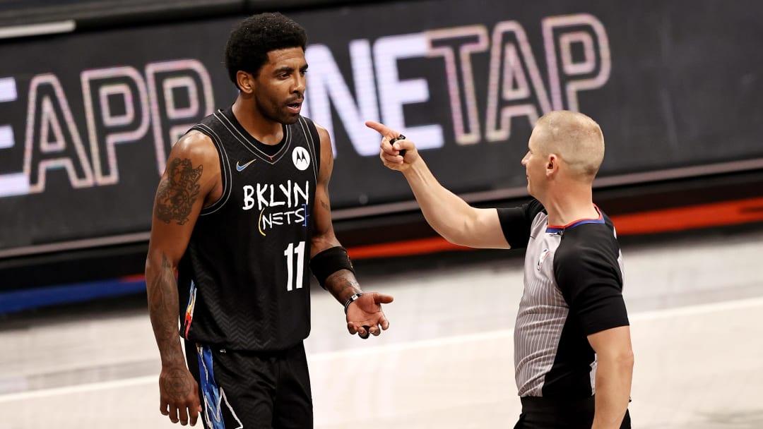 Kyrie Irving será baja en los Nets el lunes contra los Timberwolves