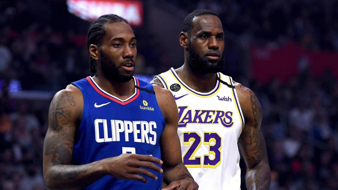 Kawhi Leonard, LeBron James