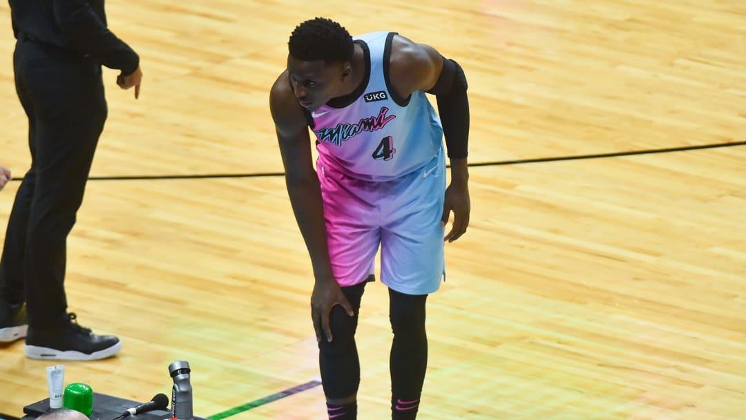 Victor Oladipo se lesionó la rodilla el jueves