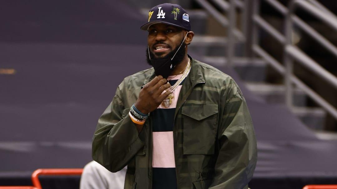 LeBron James sigue trabajando en su recuperación de su lesión