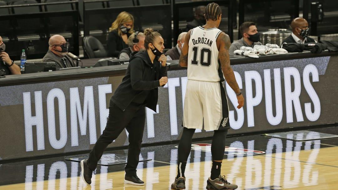 San Antonio Spurs Becky Hammon