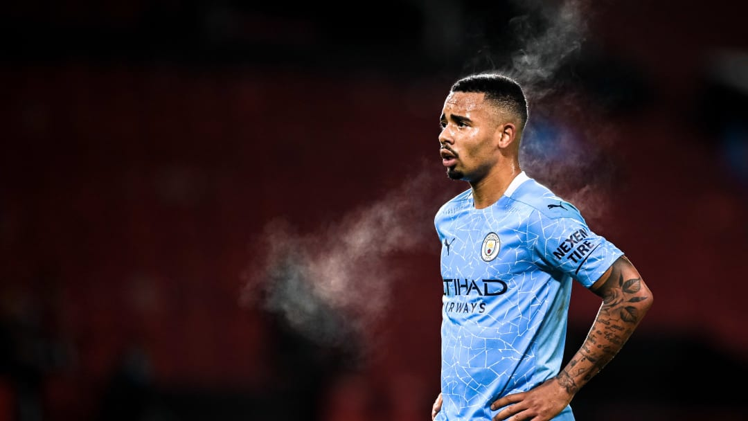 Gabriel Jesus is one of two City players self-isolating