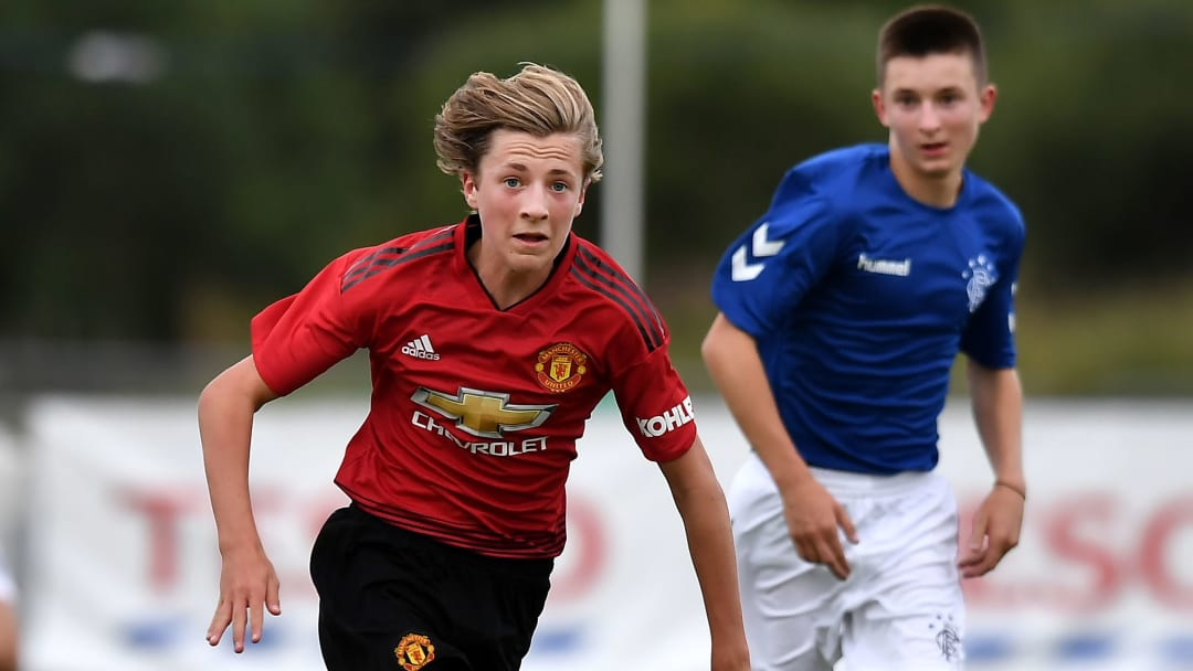 Charlie Savage is on the books at Manchester United, but who is he?