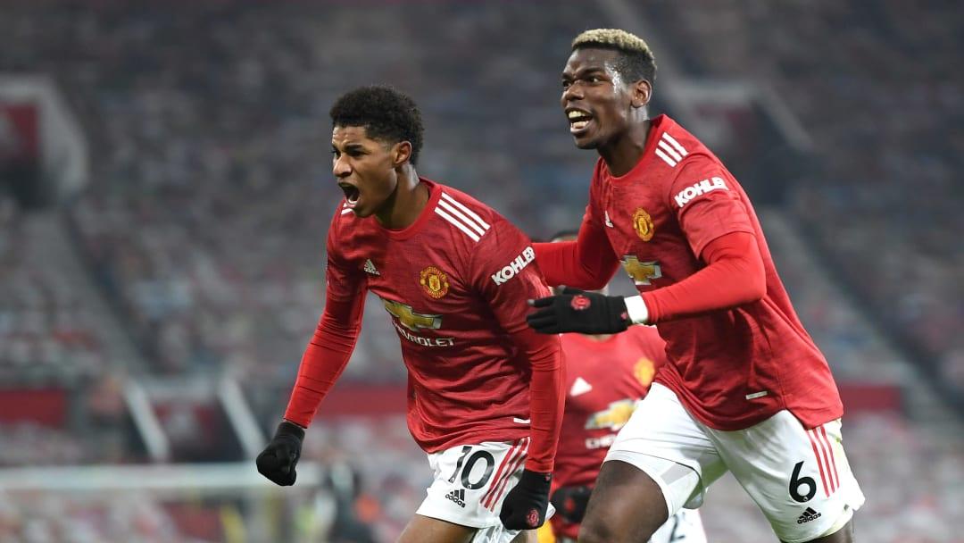 Manchester United s'impose en fin de match face aux Wolves grace à un but de Marcus Rashford (1-0)