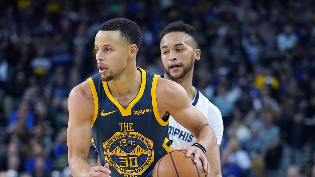 Stephen Curry, Kyle Anderson
