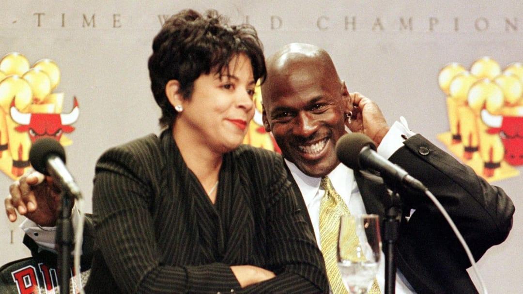 Juanita Vanoy, Michael Jordan