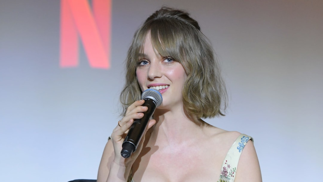 Maya Hawke reflects on joining 'Stranger Things.'