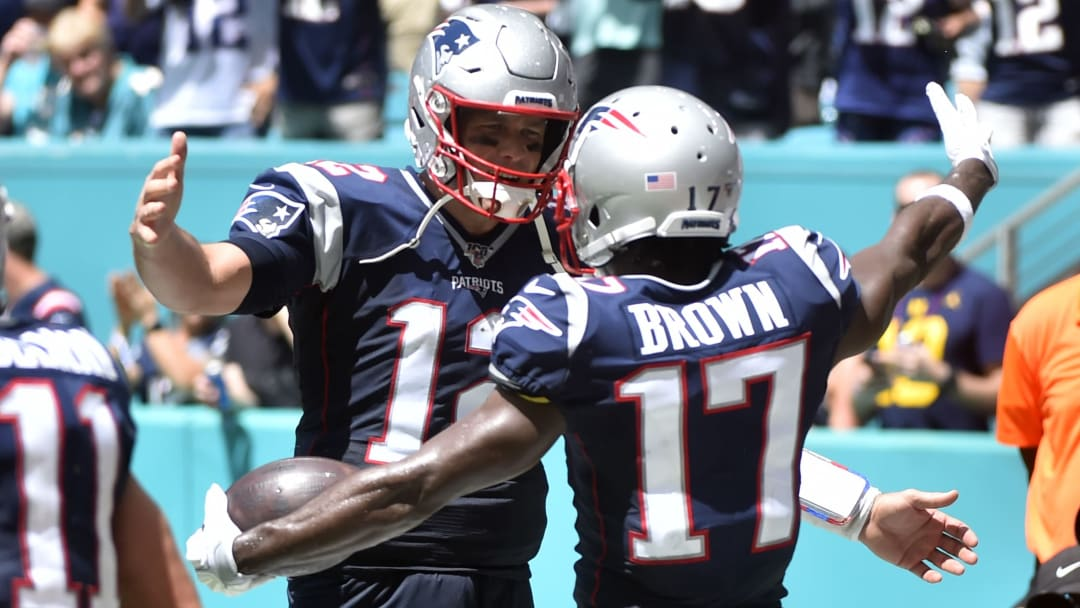 Antonio Brown, Tom Brady