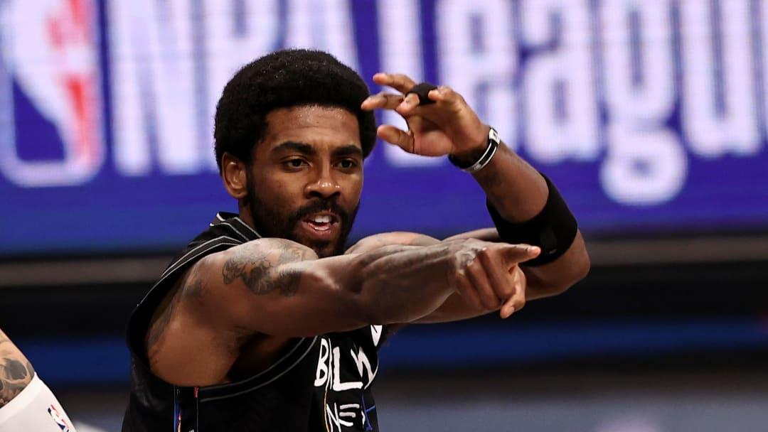 Kyrie Irving fue expulsado del partido ante Lakers