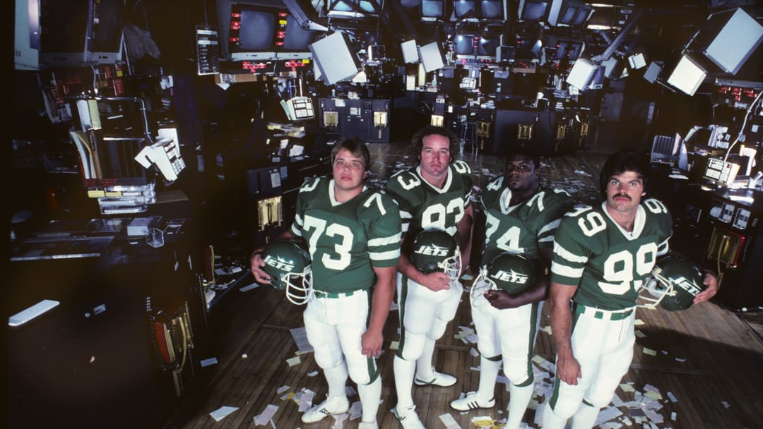 NY Jets, Joe Klecko, Marty Lyons, Abdul Salaam, Mark Gastineau