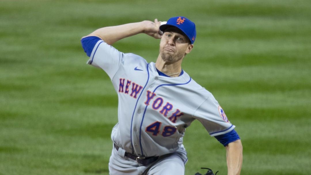 Jacob deGrom tiene efectividad de 2.59 en toda su carrera con los Mets