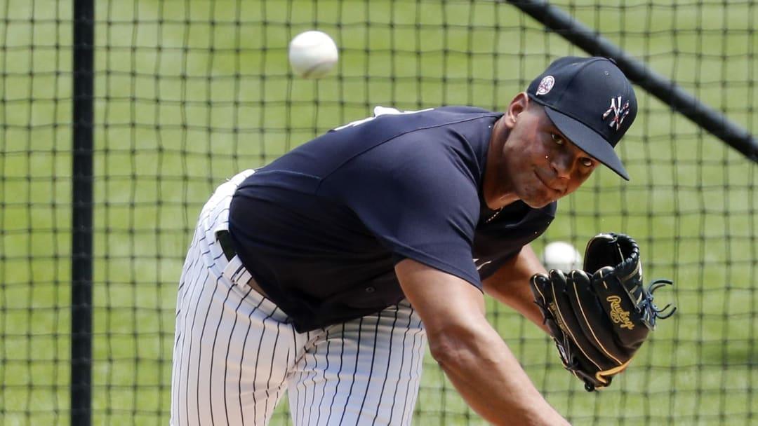 Albert Abreu fue subido al roster de MLB de los Yankees