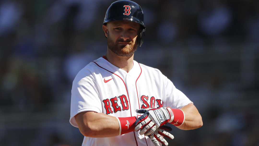Boston Red Sox catcher Jonathan Lucroy