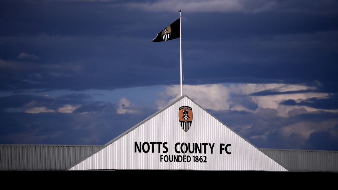 Lo stadio del Notts County, uno dei club più antichi del mondo