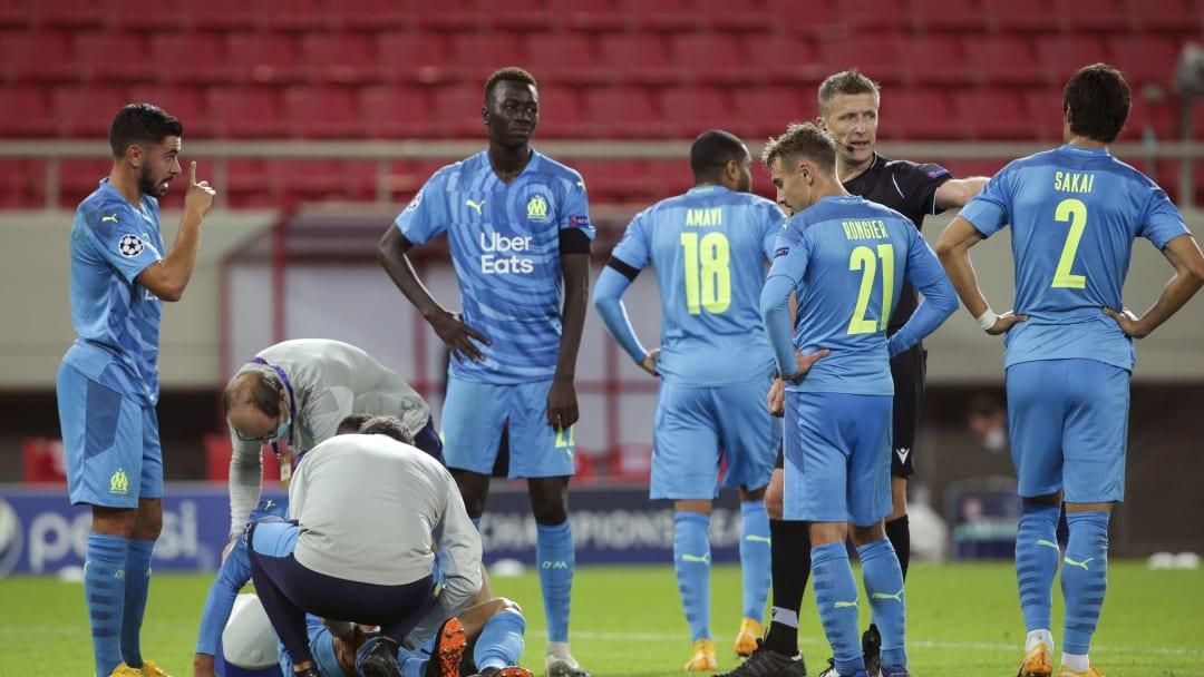 Olympiacos FC v Olympique de Marseille: Group C - UEFA Champions League