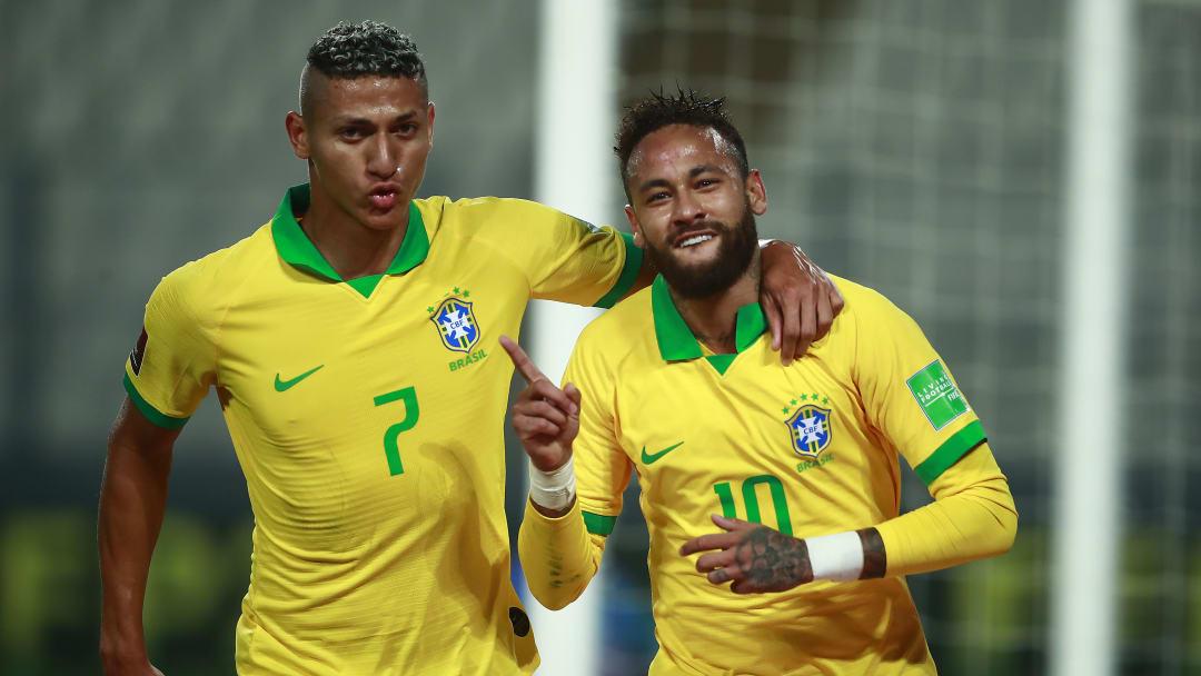 Neymar accidentally shared Brazil teammate Richarlison's number on Twitch