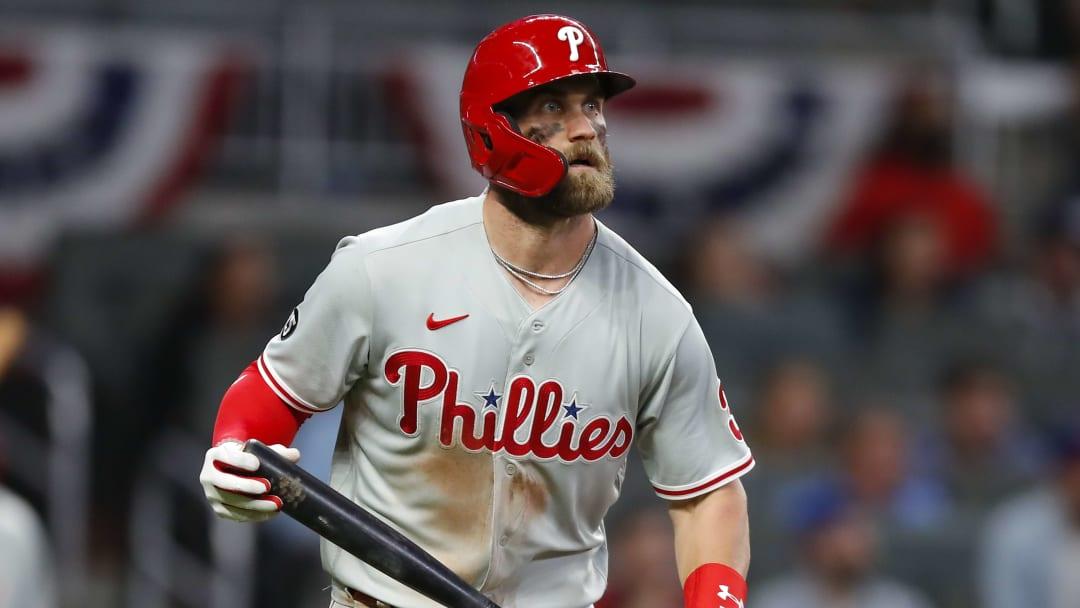 Bryce Harper es uno de los mejores outfielders en la actualidad de la MLB