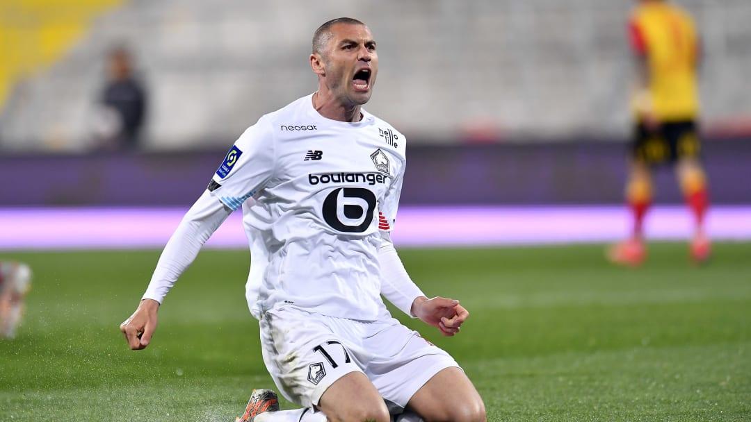 Burak Yilmaz est en train de porter Lille vers le titre de champion de France.