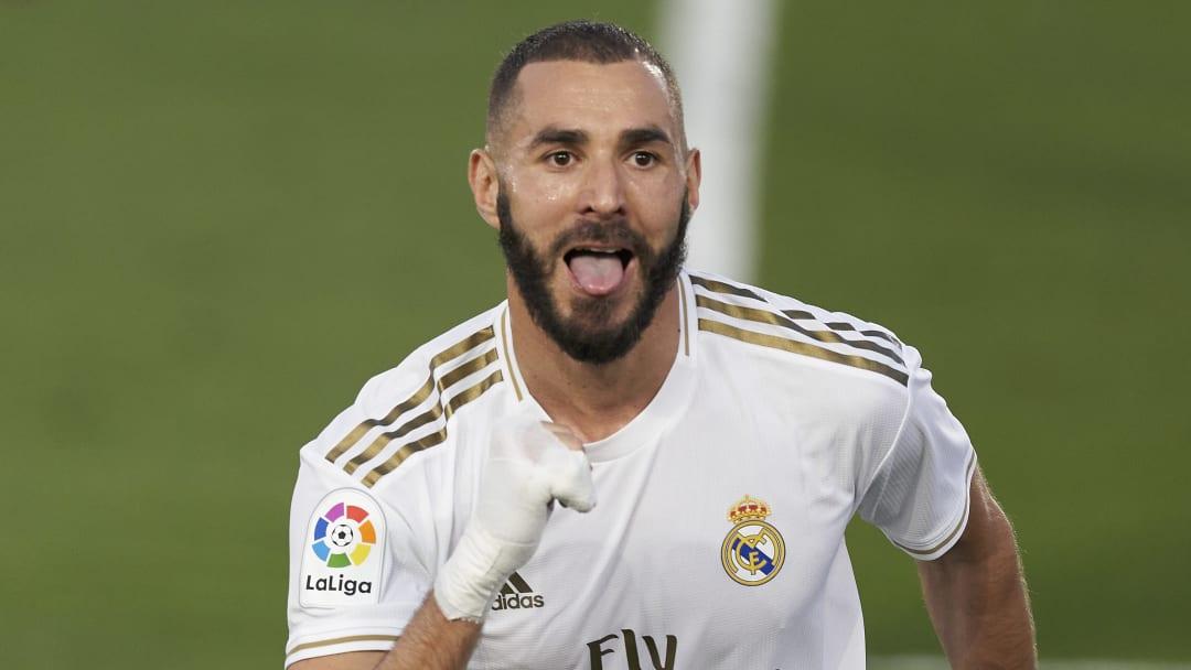 Karim Benzema Real Madrid.