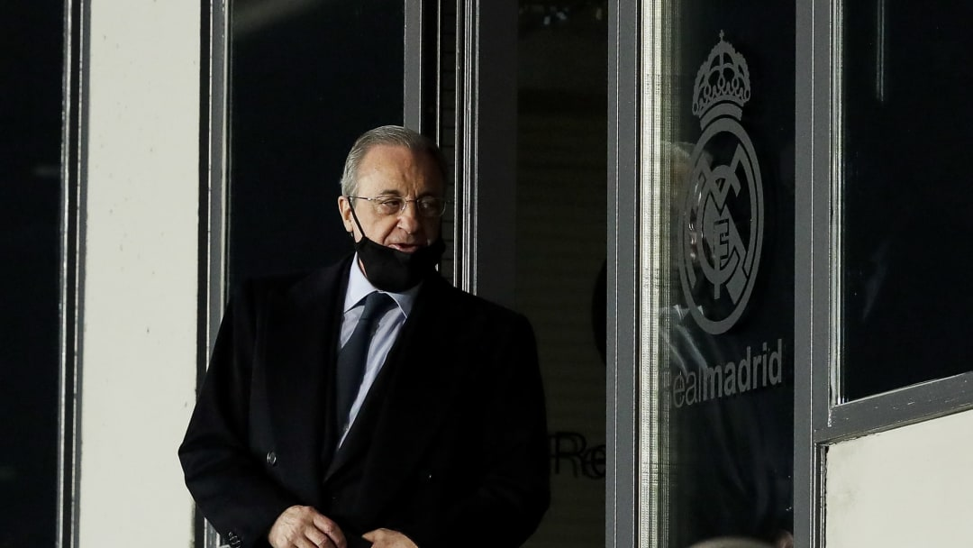 Florentino Perez believes a new controversial Super League will 'help football at all levels'