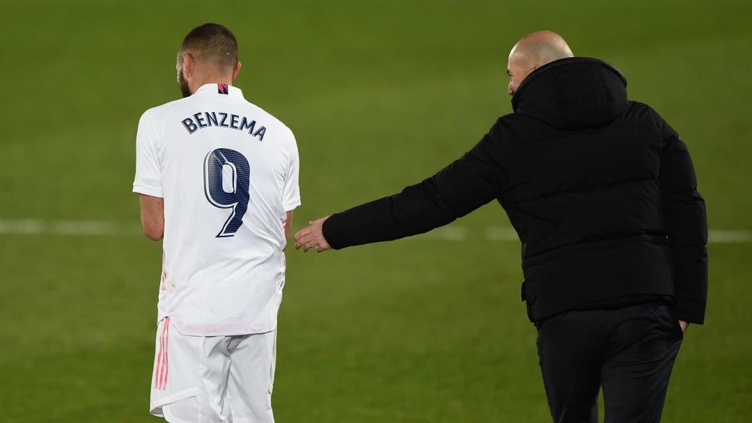 Zinédine Zidane a apporté son soutien à Karim Benzema.