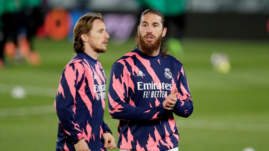 Luka Modric, Sergio Ramos