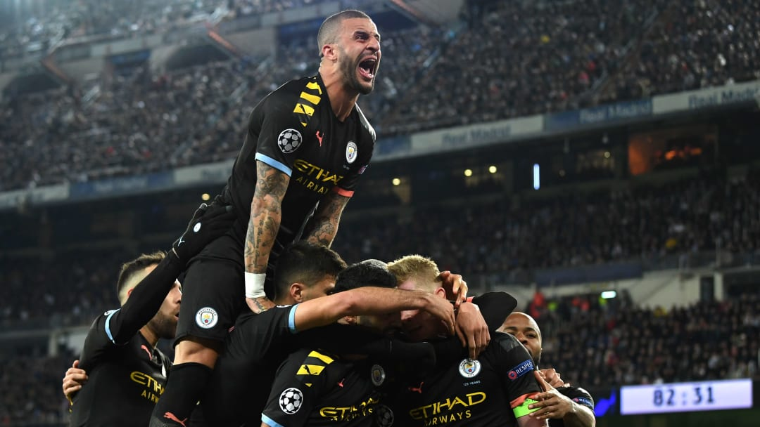 Manchester City beat Real Madrid 2-1 in the first leg to head into this game with the advantage
