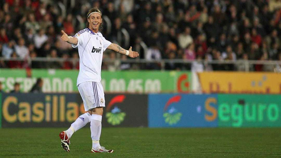Real Madrid's Guti reacts during their S