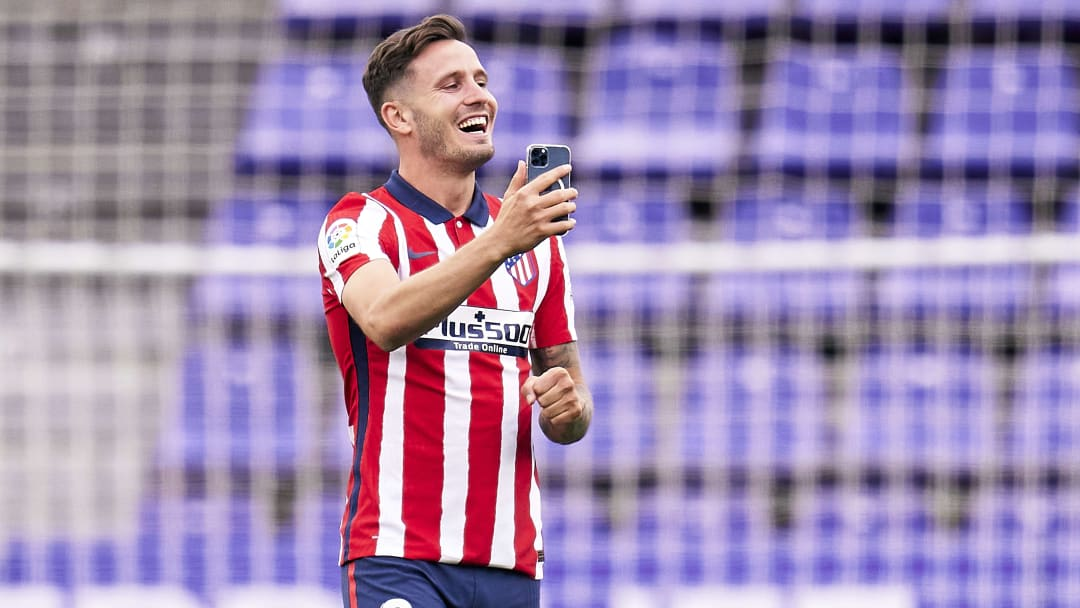 Atletico Madrid are looking to replace Saul
