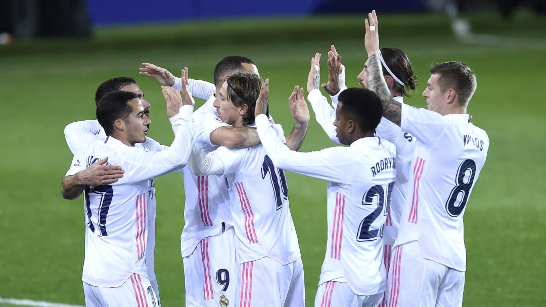Grâce à une très bonne première période, le Real Madrid s'est imposé 3-1 à Eibar