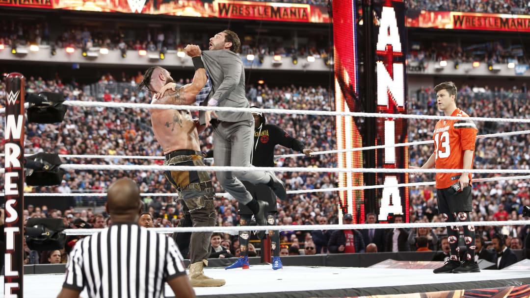 WWE Wrestlemania 35 at MetLife Stadium