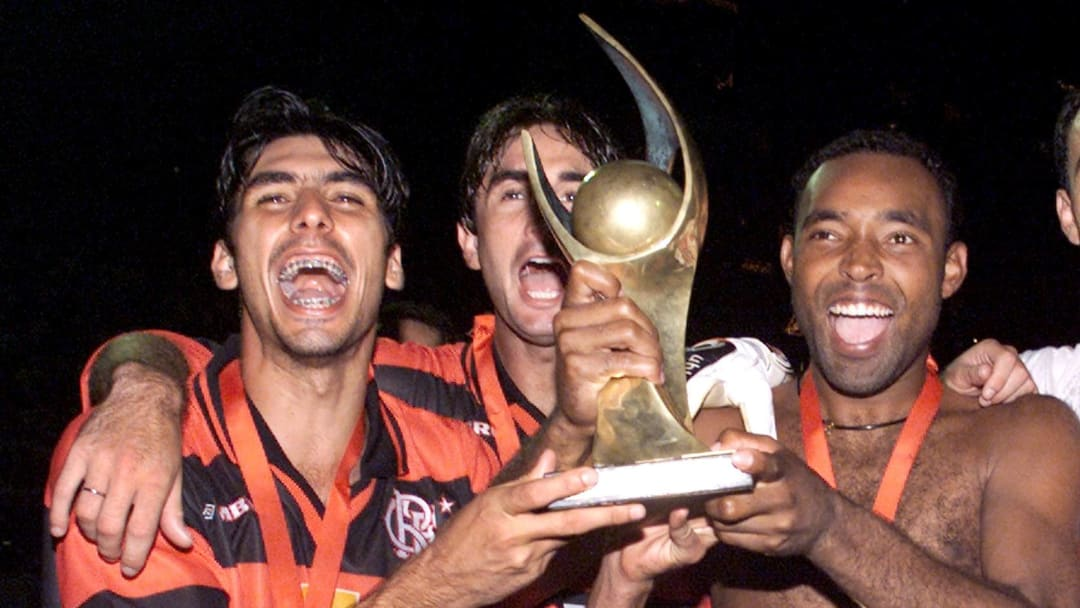 O Flamengo de Athirson conquistou a Copa Mercosul de 1999
