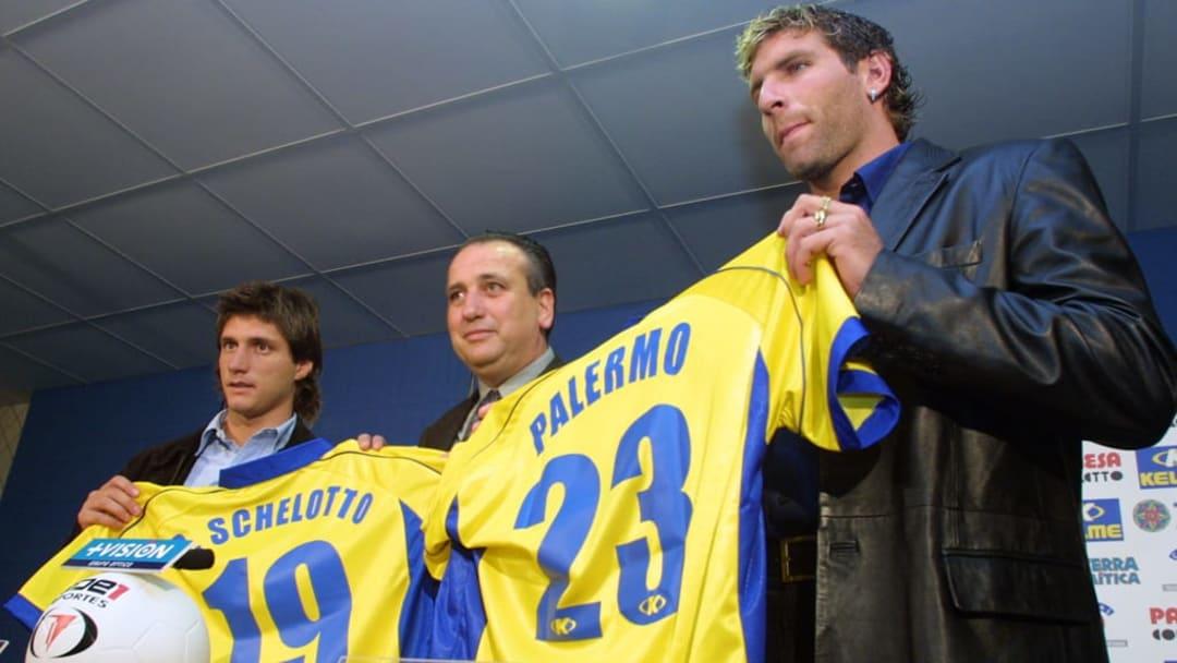 Palermo chegou com seu companheiro Schelotto para defender a Villarreal