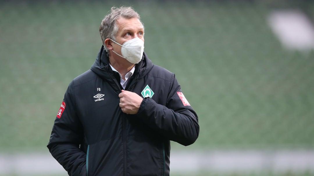 Werder-Sportchef Frank Baumann (45) hat nur wenige finanzielle Mittel zur Verfügung