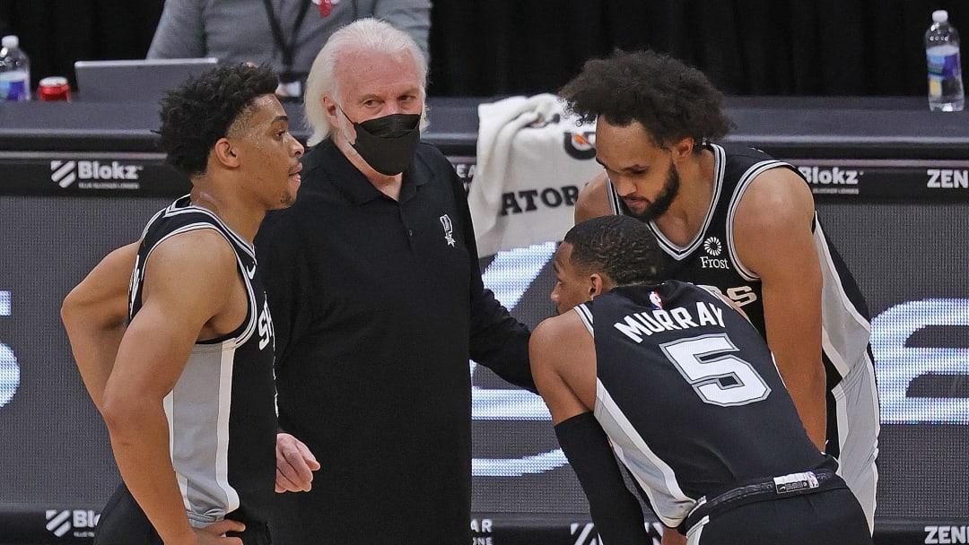 San Antonio Spurs Dejounte Murray Derrick White